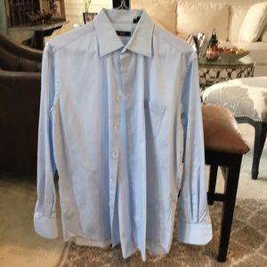 Hugo Boss men's dress shirt, size 16, 34/35